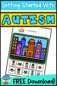 autism, speech therapy, token boards, first/then, visual schedules, special education