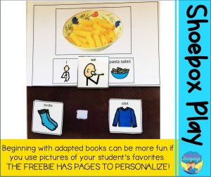 It is a good idea to use your student's favorites in speech therapy to increase engagement.