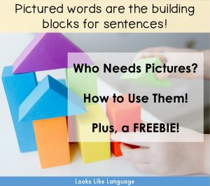 sentence building, picture symbols, freebie, book craft. autism, speech therapy