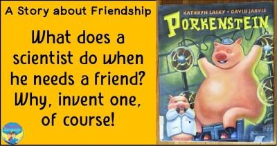 Porkenstein, by Kathryn Lansky, is a great book for SLPs!