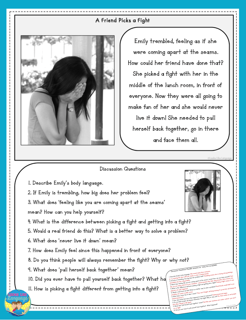 free download, teen social skills, speech therapy