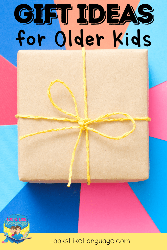 games and presents for older kids