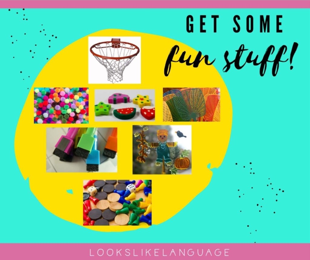 Pictures of fun objects to use in vocabulary work to engage your students.