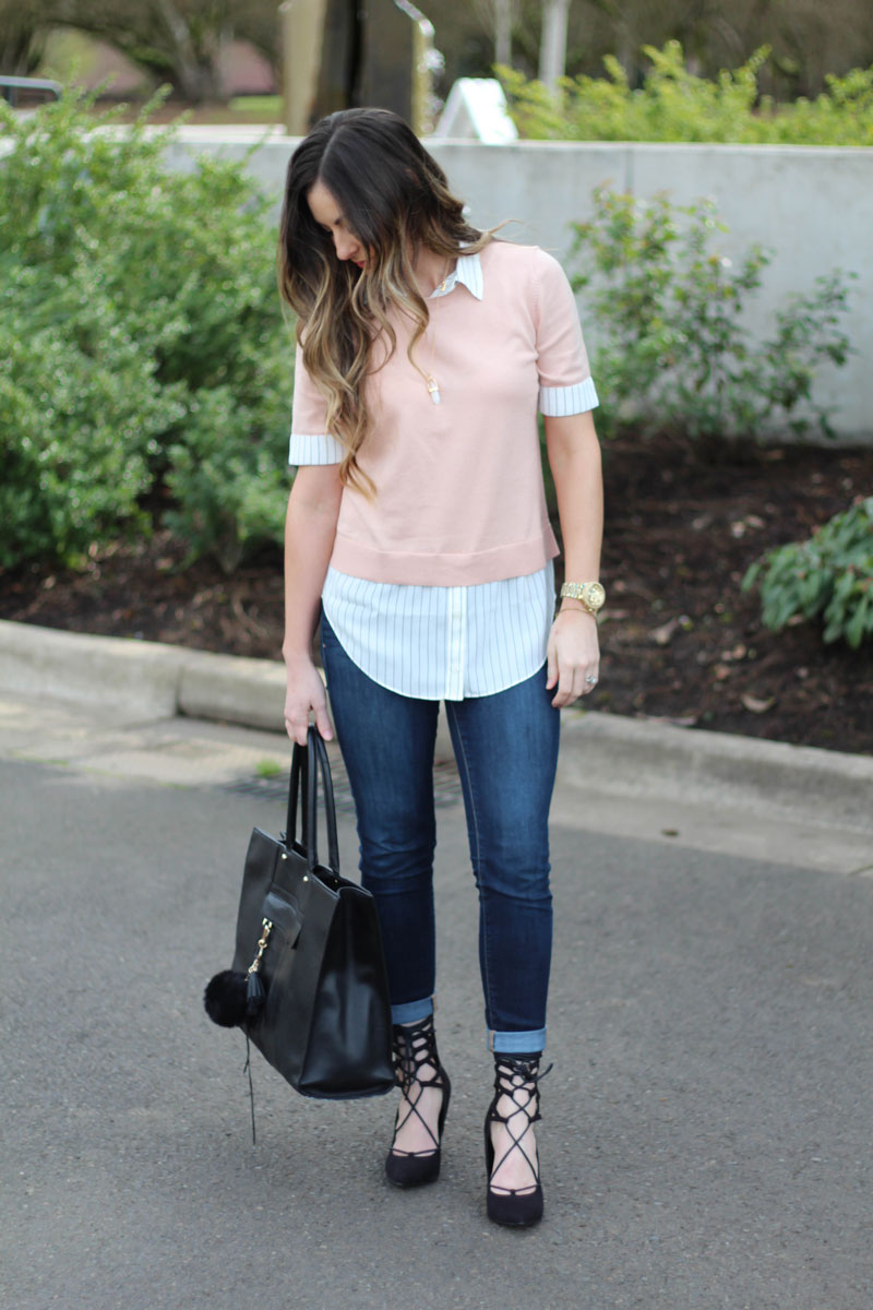 Double Layered Shirt by Loft