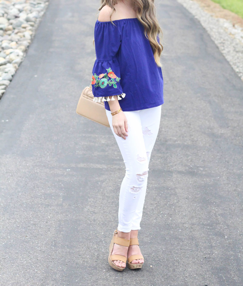Off the shoulder top by Shop the Mint