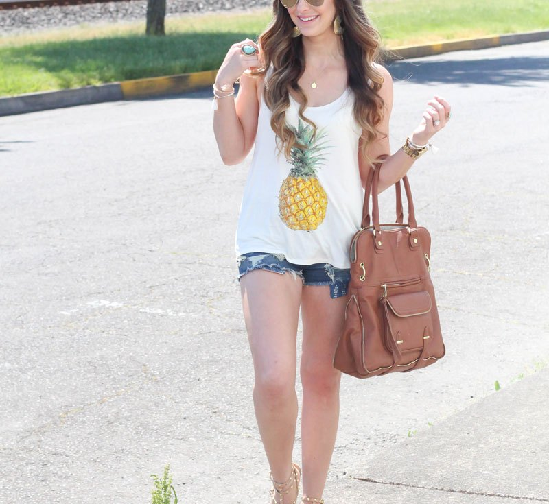 Fashion Junkee Pineapple Tank