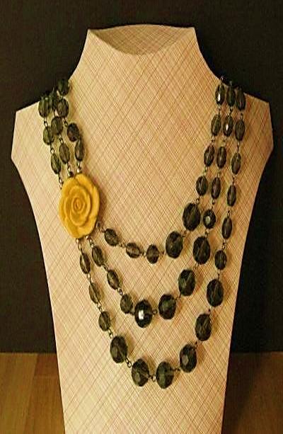 47587a1956ff exhibidor de collares diy bisuteria paso a paso gratis joyeria mostrador