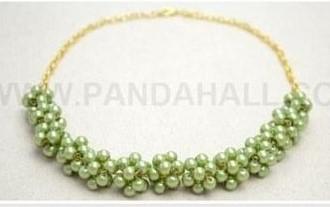 1b011b7dc Bisutería PASO A PASO para hacer este hermoso collar    How to make ...