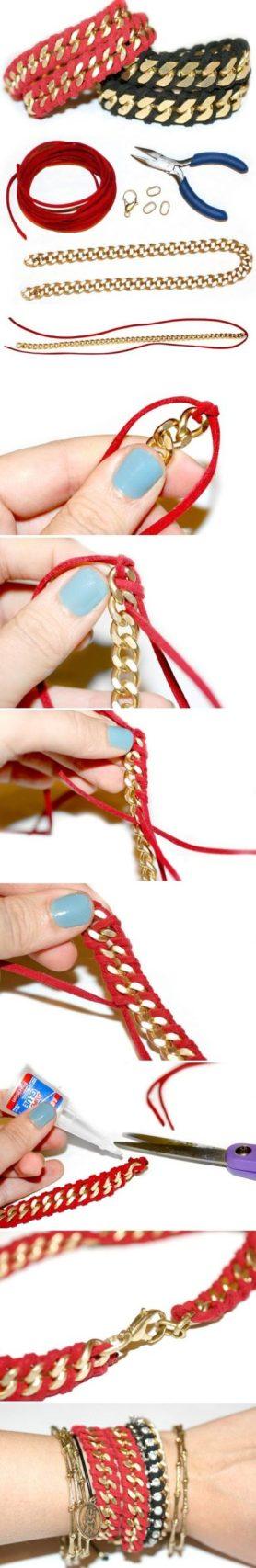 pulseras cadenas bracelets chains jewelry