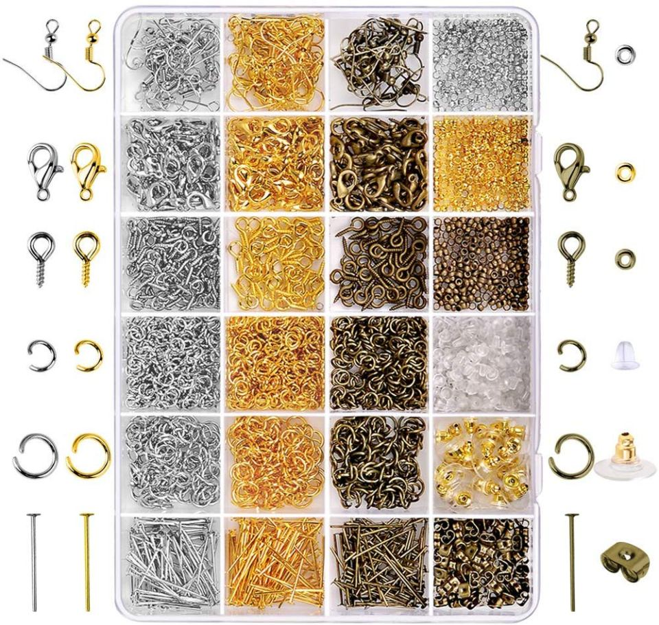jewelry making supplies findings kit