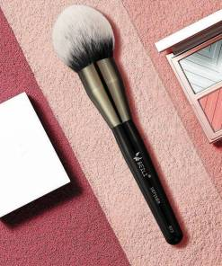 Black Big Powder Soft Synthetic Blush Definer Makeup Lookta Beauty View All