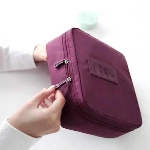 Waterproof Portable Cosmetic Organizer Bag Accessories Makeup Lookta Beauty View All