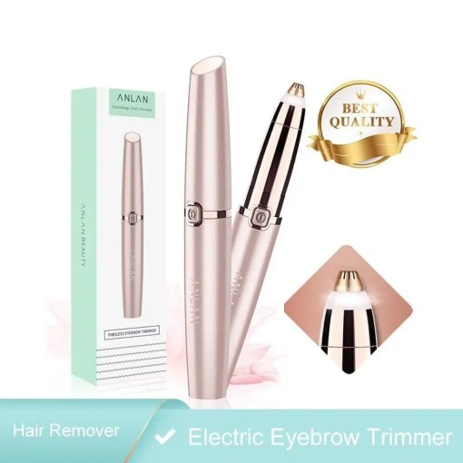 Electric Portable Eyebrow Trimmer Epilator Accessories Makeup Lookta Beauty View All
