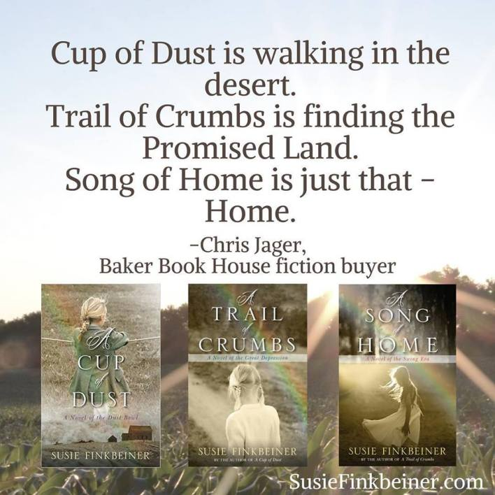 A Song of Home by Susie Finkbeiner (Chris Jager quote)