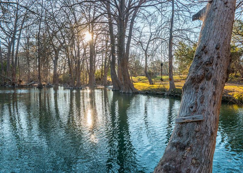 Blue Hole Regional Park, Wimberly Texas