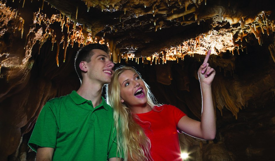 One of the best things to do in Branson is to come to the Talking Rocks Cavern.