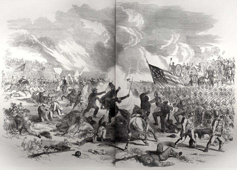 Battle at Wilson's Creek, near Springfield, Mo