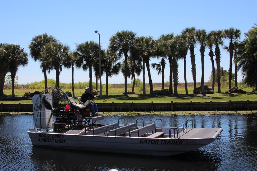 Boggy Creek Airboat in Kissimmee