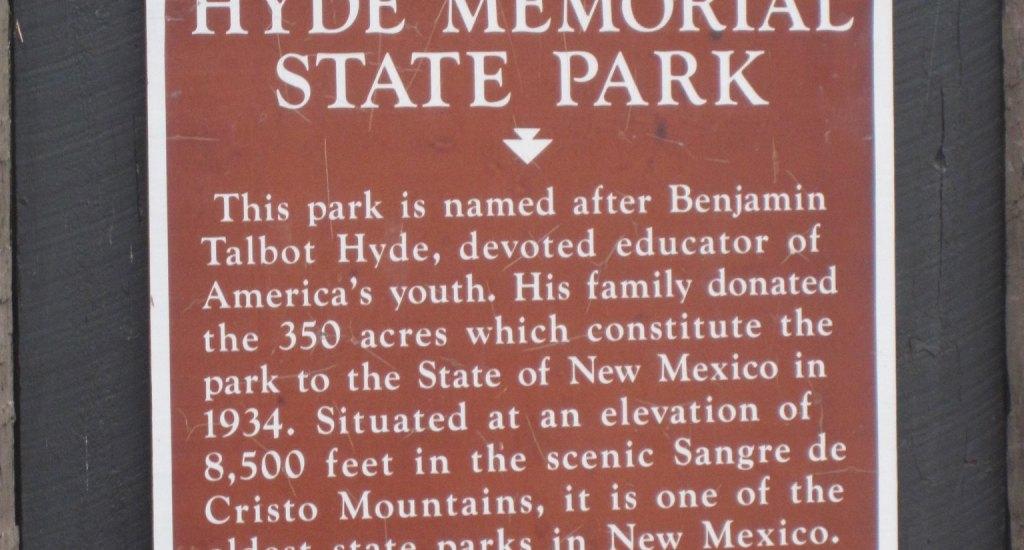 Hyde Memorial State Park Santa Fe