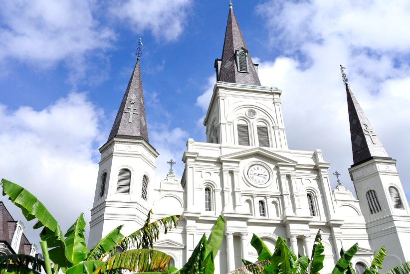 St. Louis Cathedral. New Orleans