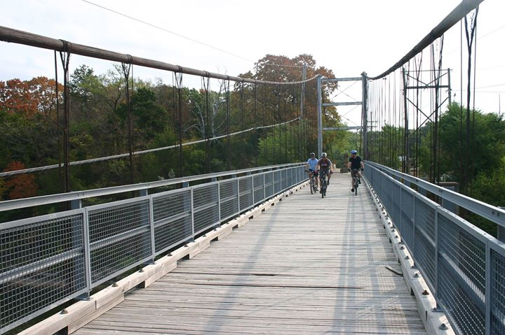 Swinging Bridges at the Lake of the Ozarks
