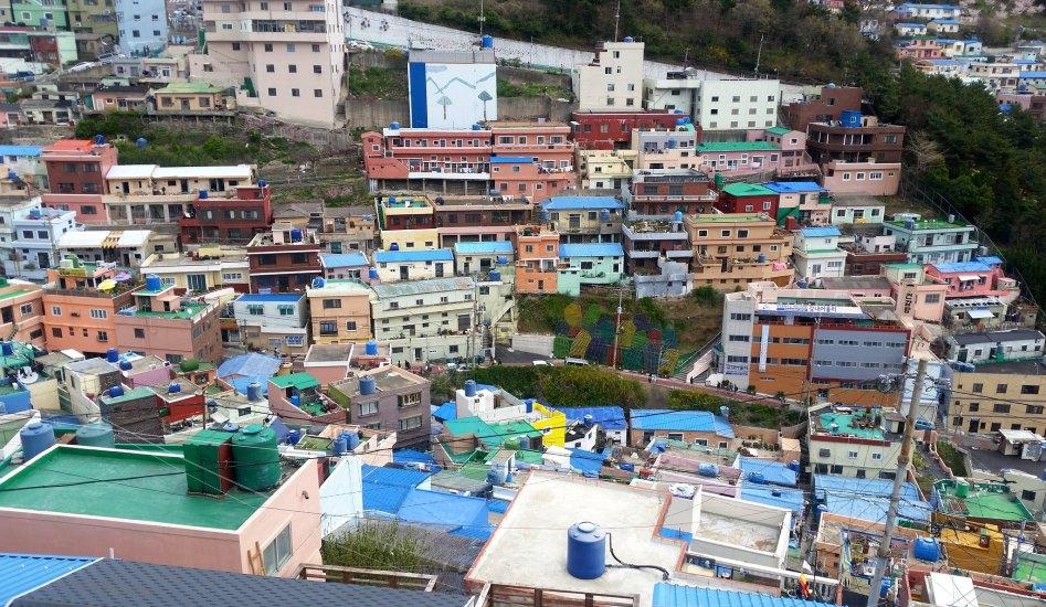 Explore the galleries, studios, gorgeous murals, and cozy studios here in Busan.