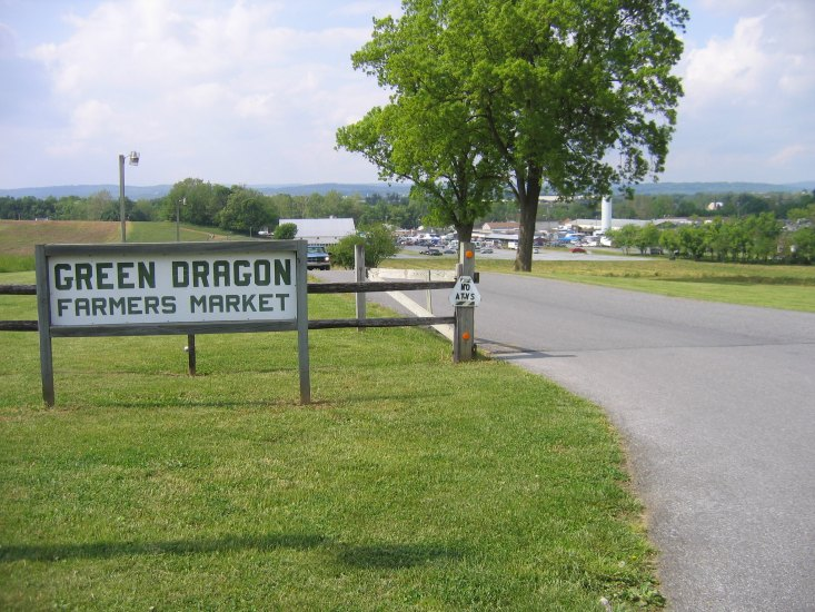 In Amish Country,PA good place to visit is the Green Dragon Market.