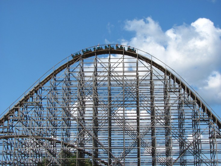 One of the best things to do in Michigan is to visit Michigan's Adventure.