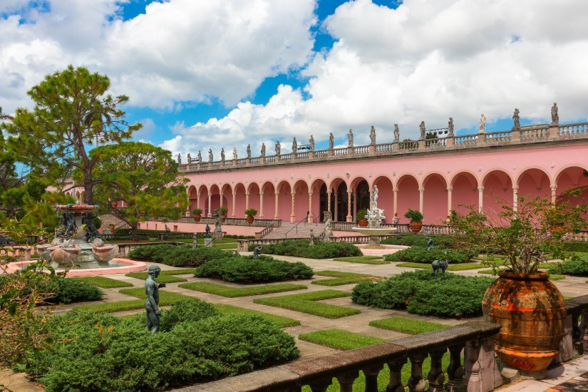 John and Mable Ringling Museum of Art is located in Sarasota, Florida.