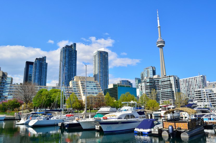 Toronto is a city in Canada that is known to be the largest as well as the most visited city in the country