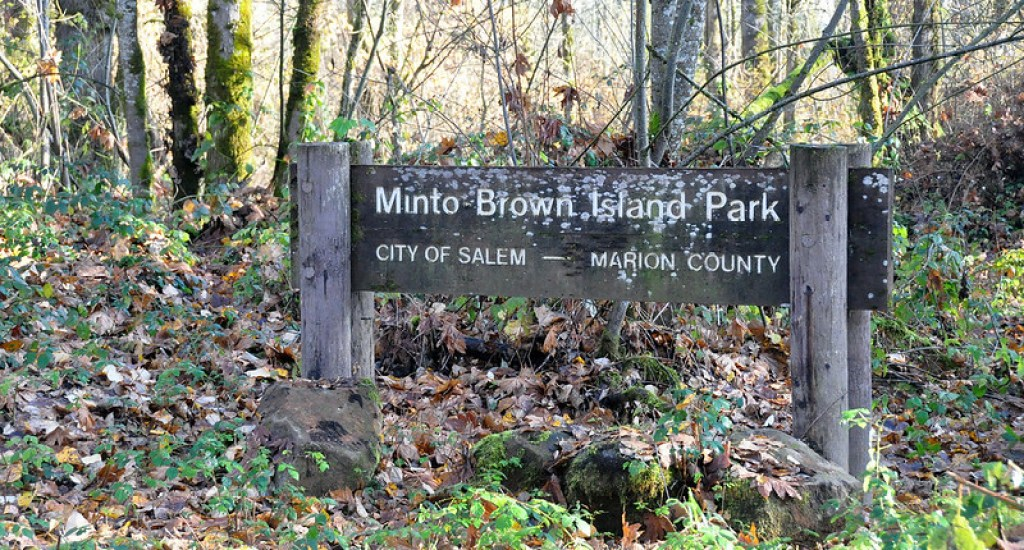 Minto Brown Island Park is the largest park in Salem