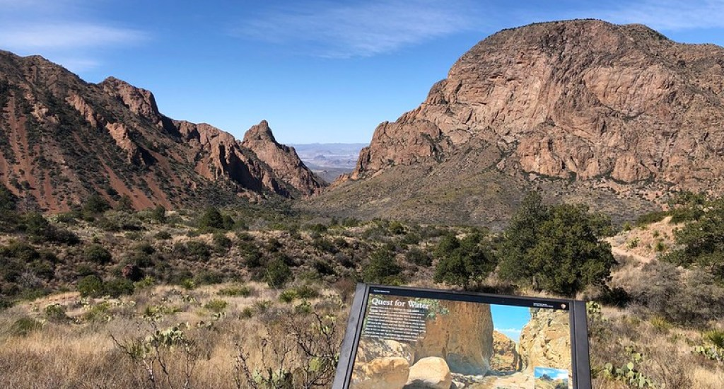 Located in West Texas, Big Bend National Park is one of the top places to visit in Texas