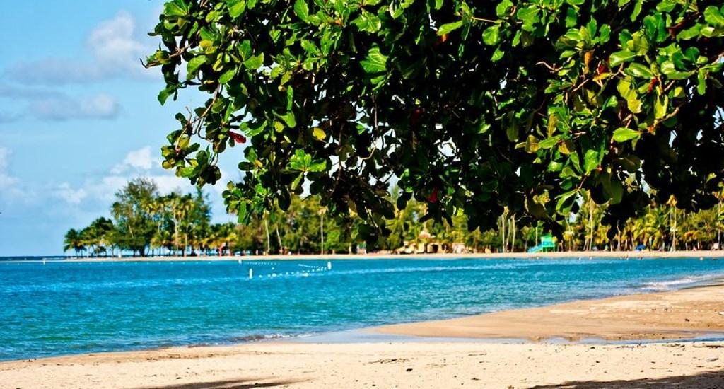 Puerto Rico Playa de Luquillo