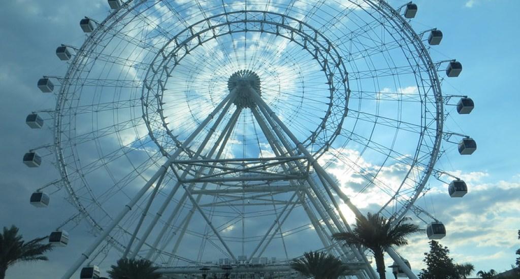 Orlando Eye Ferris Wheel inside ICON Park in Orlando