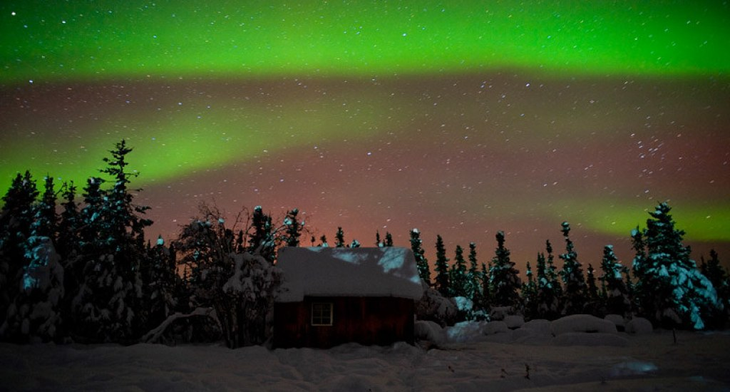 This phenomenon can be experienced in the state of Alaska.