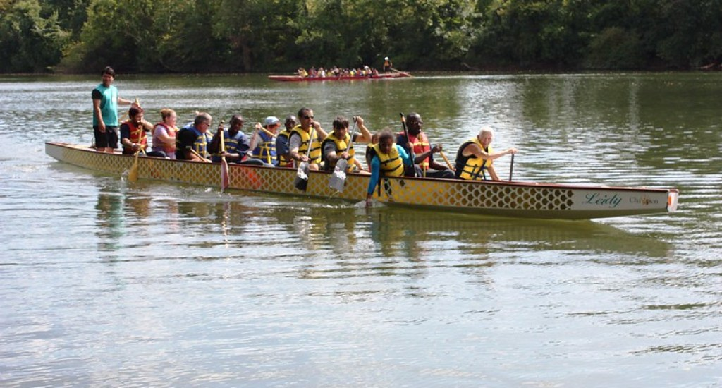 Dragon Boat at Riverfront Park, Montgomery