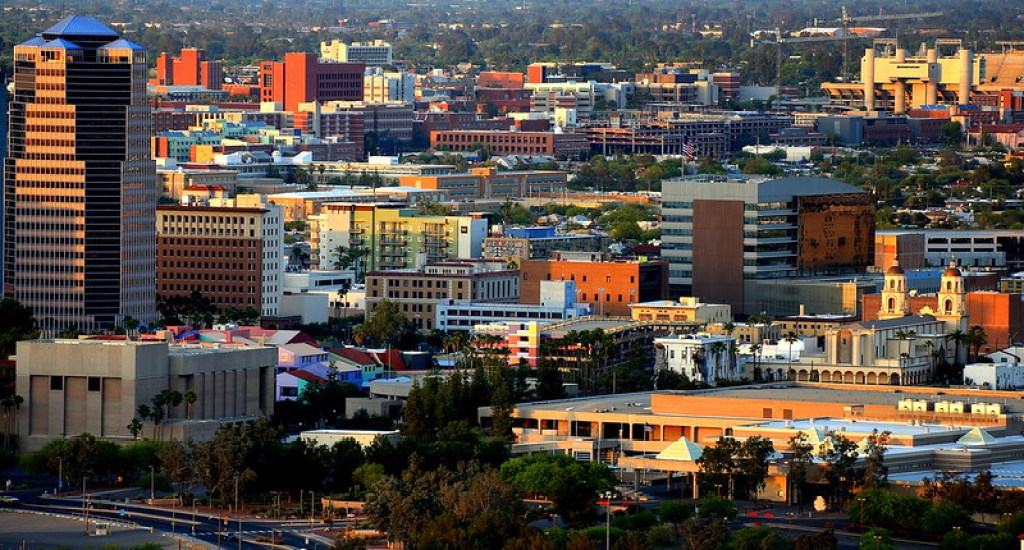 Tucson is the second-largest city surrounded by mountains and located in the Sonoran Desert of the county seat of Pima County, Arizona