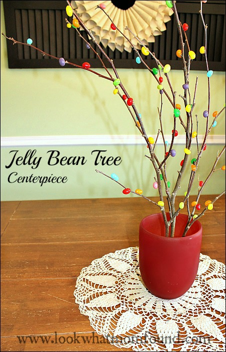 Jelly Bean Tree Centerpiece Plus Giveaway