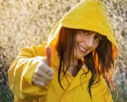 coping, positive psychology, disasters, smiling in the rain