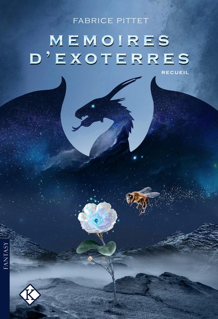 Couverture de livre - Mémoires d'Exoterres - Fabrice Pittet