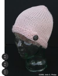 Buttoned Up Hat 2