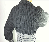 Loom Knit A Shrug