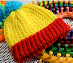 Loom Knit A Hat For Beginners