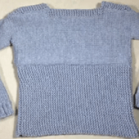 Step By Step Tutorial To Loom Knitting A Pullover Sweater