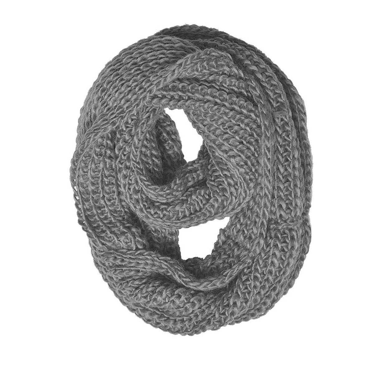 Loom Knit An Infinity Scarf - An Easy Project For Loom Knitting Beginners
