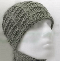 How To Loom Knit A Man's Brimless Hat