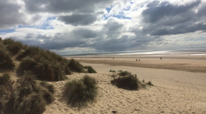Moody Clouds over the dunes at Camber