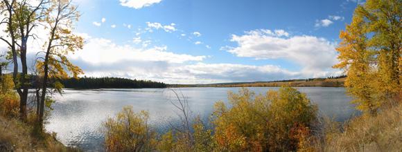 Salmon Lake vista :: The LOONS Flyfishing Club