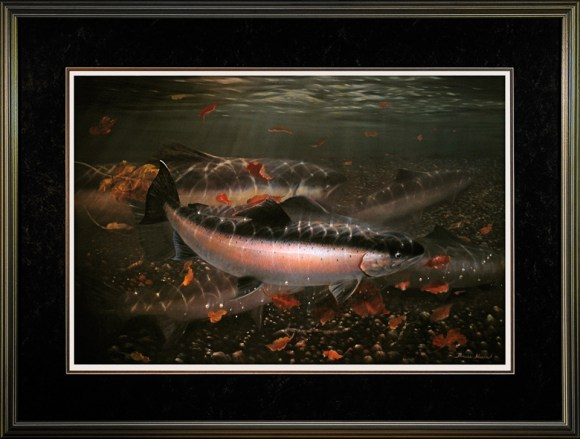 'Steelhead' by Bruce Muir :: The LOONS Flyfishing Club