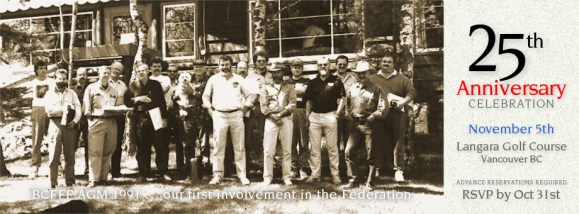 25th Anniversary ~ Reflection on BCFFF Involvement :: The LOONS Flyfishing Club